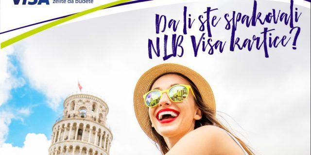 NLB Banka nagrađuje klijente za korištenje NLB Visa kartica!  Nagradna igra traje od 15.8. do 13.9.