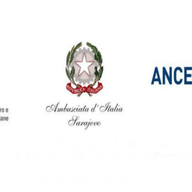 Poslovni forum 'Italy & Bosnia and Herzegovina – Building Together'