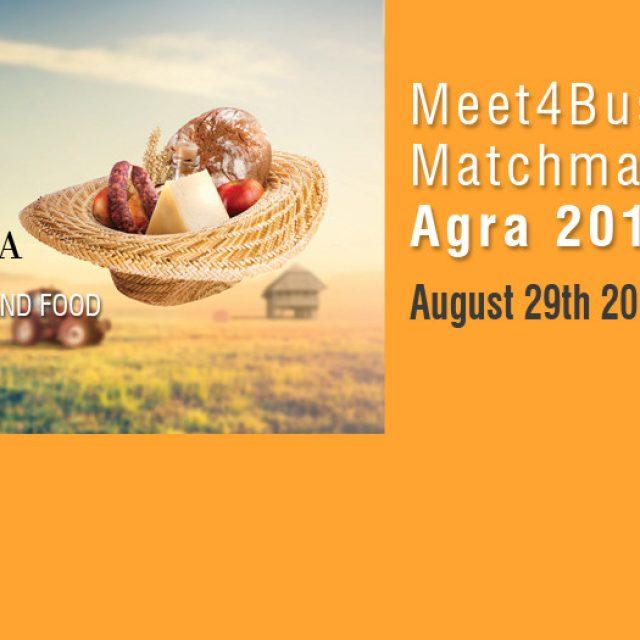 """Poziv za učešće na poslovnim susretima """"MEET4BUSINESS """" Agra"""